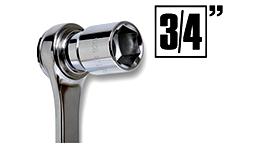 "Steckschlüssel 3/4"""