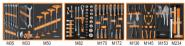 Werkzeugsortiment 5970B/AU21