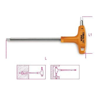 Stiftschlüssel 96TINOX